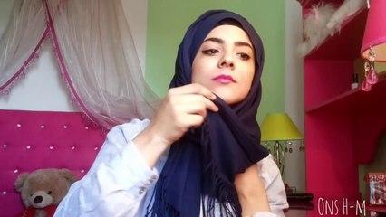 Spring Hijab tutorial _ My youtube Logo hijab tutorial