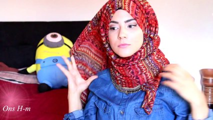 Simple Everyday Hijab Tutorial (with necklace)