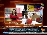 Colombia se cimbra ante acusación de Álvaro Uribe contra pdte. Santos