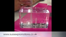 Laser Crystal Business Awards & Gifts From Sussex Promotions