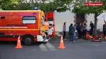 Saint-Brieuc. Deux blessés dans un accident