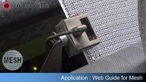 Mesh Web Guiding System - Web Guide Sensor detects Mesh   Net   Tire Cord