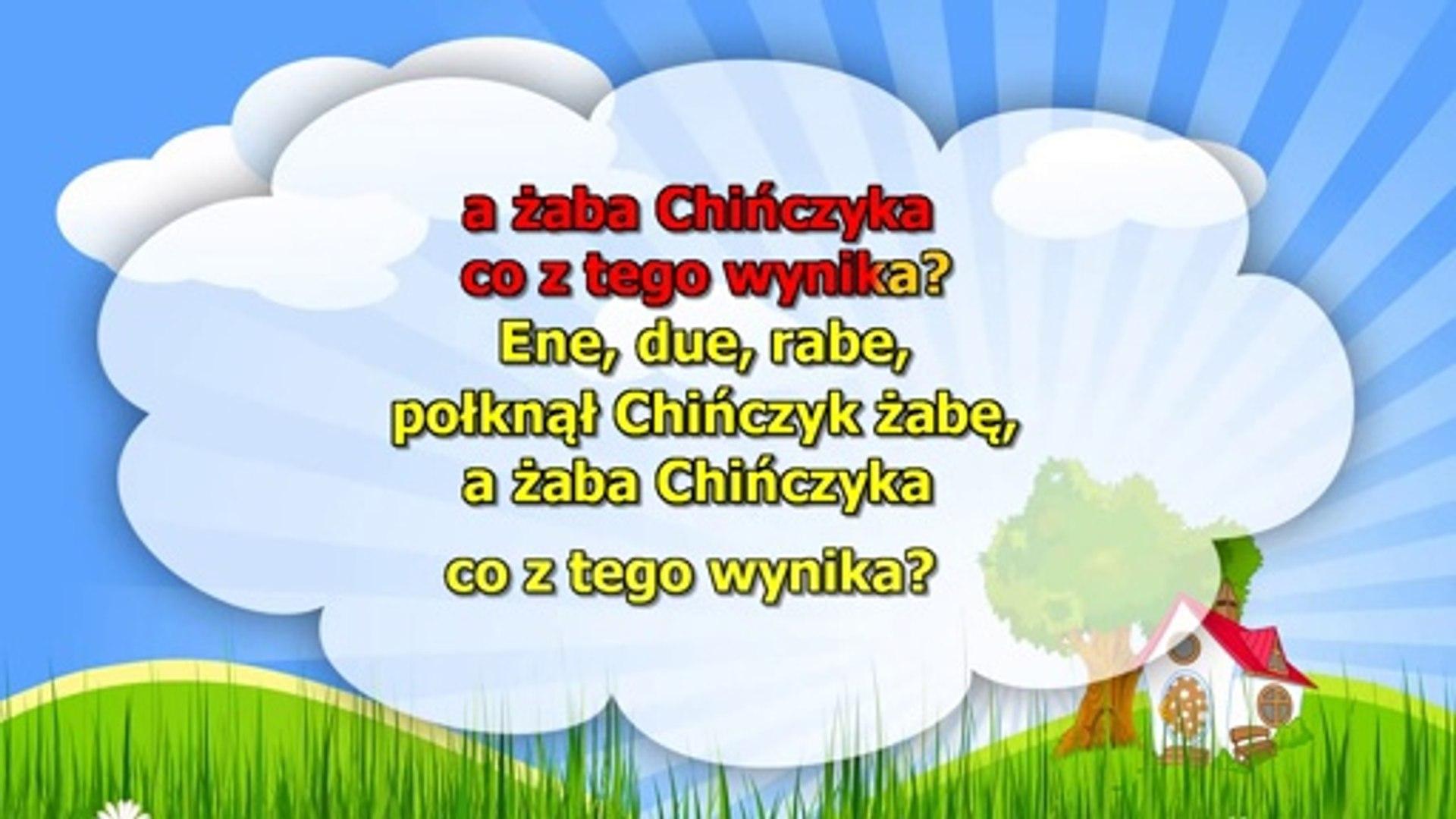 Ene Due Rabe Piosenki Dla Dzieci