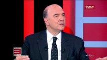 """Pierre Moscovici juge """"stupide"""" la dénonciation par Jean-François Copé d'une France qui deviendrait fédérale avec 11 régions"""