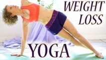 Yoga For Weight Loss & Fat Burning Workout - 30 Minute Beginners Flexibility Class - Day 2