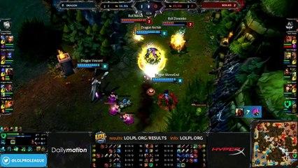 Dragon vs Rox.KiS Semifinals - game 3 (ENG)