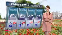Showers forecast for Jeju, clear elsewhere