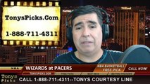 Indiana Pacers vs. Washington Wizards Game 5 Odds Pick Prediction NBA Playoff Preview 5-13-2014