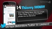 Hazard, Henry, Fabregas... Les tops Tweets du weekend !