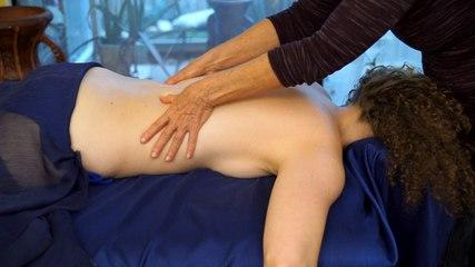 Back Massage Pure Relaxation Technique How To Give A Back Massage, ASMR Athena Jezik