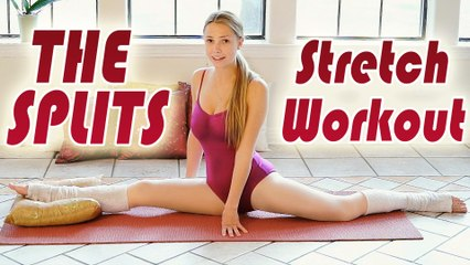 The Splits Stretch Routine - How To Do The Splits Flexibility Training Beginners Exercises Workout