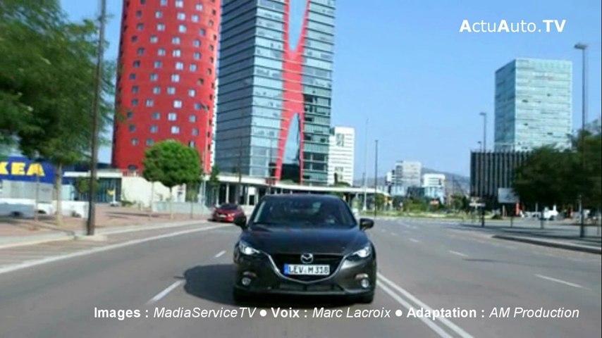 Essai vidéo Mazda 3 sedan 2.2 SKYACTIV-D 150 ch
