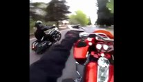 Harley Davidson Motorcycle Wheelie - Motorcycle Stunts