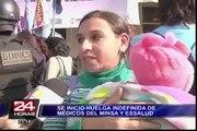Cientos de pacientes afectados por huelga nacional de médicos del Minsa y Essalud