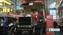 London Transport Museum features buses from World War I