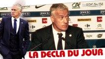 """Bleus Mondial - Deschamps : """" Nasri n'a pas le même statut en équipe de France """""""