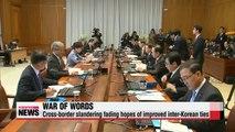 Fierce rhetorical battle between Koreas eroding hopes of better inter-Korean ties