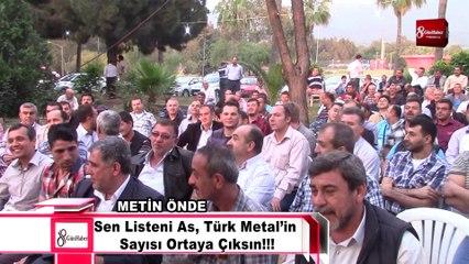 Metin Önde Sen Listeni As, Türk Metal'in Sayısı Ortaya Çıksın!!!8gunhaber [Yüksek Kalite ve Büyüklük]
