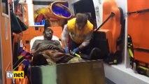 Somalı Madenci- 'Çizmelerimi çıkarayım sedye kirlenmesin'