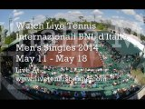 Live ATP Internazionali BNL d'Italia 2014