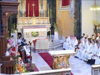 Mgr. Marceau, nouvel évêque de Nice