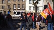 Manifestation des fonctionnaires : 300 personnes en colère