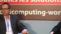 Débat inaugural : Cloud : vers une révolution des business models Mutation des business models des entreprises grâce au cloud Mutation de l'organisation de la DSI et des métiers avec le cloud, et impacts RH