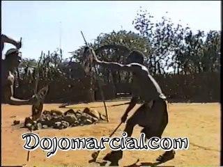 Lucha Zulú demostración - Zulu Combat Demostration - Luta Zulus / Zulos
