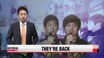 Lee Yong-dae and Kim Ki-jung hold press conference