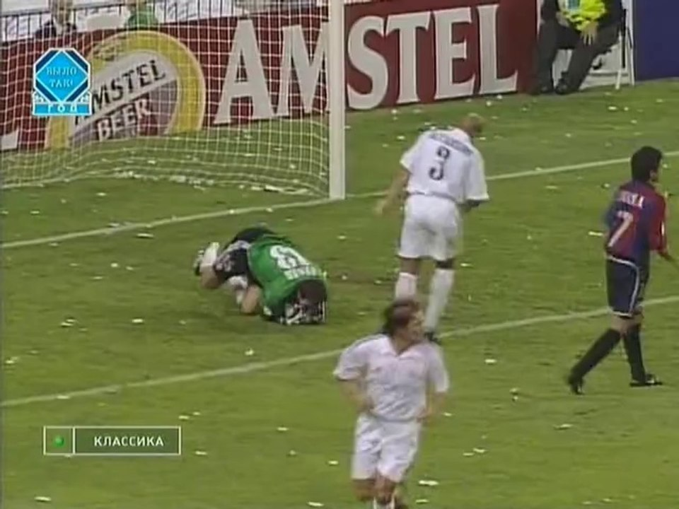 Real Madrid V Barcelona 01 05 2002 Champions League 2001 2002 Semifinal Video Dailymotion