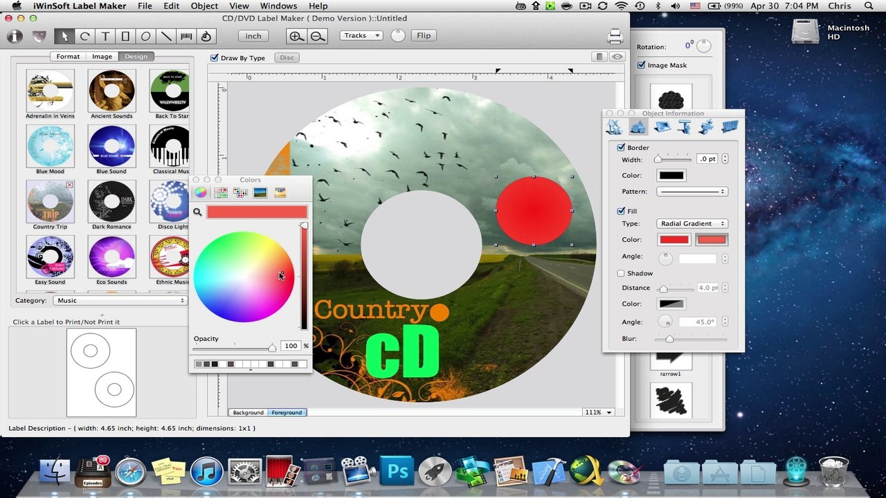Iwinsoft Mac Cd Label Designer Cd Label Design Software Video Dailymotion
