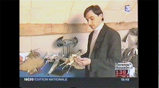 Reportage France 3 Star Wars Episode III 2005
