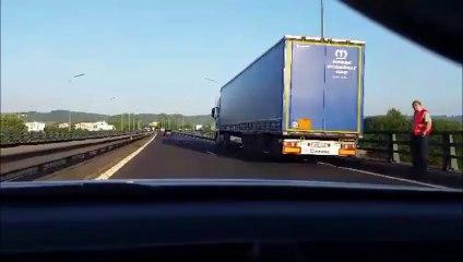 Un accident a causé 17 km de bouchons sur l'A1 (Mobile reporter)