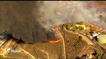 Les incendies de Californie vus du ciel