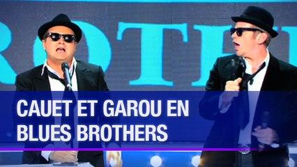 Cauet et Garou en Blues Brothers - La Méthode Cauet
