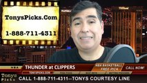 Game 6 NBA Pick LA Clippers vs. Oklahoma City Thunder Odds Playoff Prediction Preview 5-15-2014