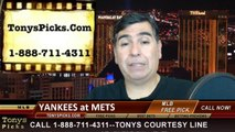 MLB Pick Prediction New York Mets vs. New York Yankees Odds Preview 5-15-2014