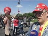 """Fonctionnaires dans la rue: """"On souffre de précarité"""" - 15/05"""