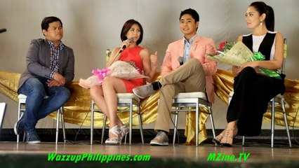 Maybe this time with Sarah Geronimo and Coco Martin Presscon-Highlights 1