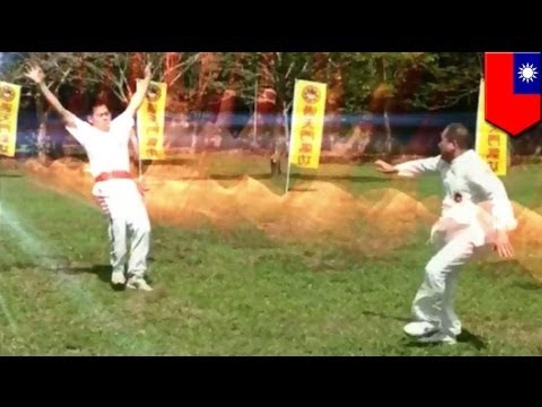 Dragon Ball: Disciple knocked over by real life Kamehameha energy ball