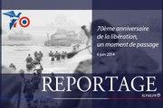 70ème anniversaire du Débarquement en Normandie, la France accueille le monde