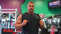 Jay Cutler Trains Chest and Triceps Prep for 2014 Jay Cutler Desert Classic.