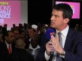 """Manuel Valls: """"le cap est tracé"""" et """"ne changera pas"""" après le scrutin des européennes - 15/05/14"""