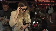 Khloe Kardashian Harassed About Lamar Odom By Paparazzi At LAX Airport