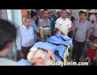 Nusaybin'de Şofben patması 1 yaralı