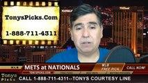 Washington Nationals vs. New York Mets Pick Prediction MLB Odds Preview 5-16-2014