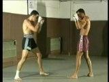 boxe thai muay thai coudes.