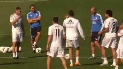 Cristiano Ronaldo umiliato in allenamento da Gareth Bale