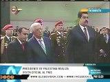 Presidente de Palestina rinde honores a Simón Bolívar en Caracas