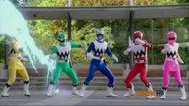 Power Rangers Super Megaforce - Legendary Lost Galaxy Ranger Mode Transformation 2 (1080p HD)